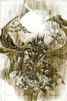 Batman in Rain by Ardian Syaf