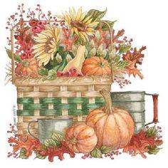 Autumn Sunflower Pumpkin HEAT PRESS TRANSFER for T Shirt Sweatshirt Fabric 794e #AB