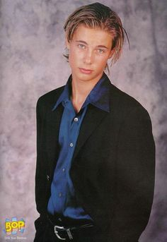Erik Von Detten - I used to have this plastered all over my room!