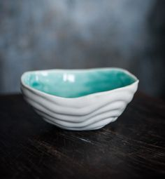 Porcelain Wave Bowl www.maggiezerafa.com
