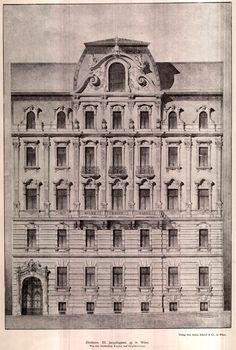 Zinshaus III, at Jacquingasse 39, Vienna, Austria - architects Kupka and Orglmeister. ARCHI/MAPS : Photo