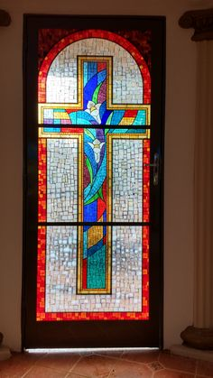 https://flic.kr/p/RZG1Uc | vitral mosaico | porta de entrada