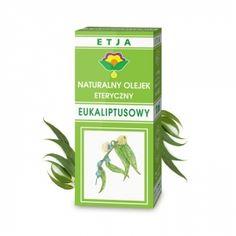 Eteryczny Olejek Eukaliptusowy 10 ml ETJA