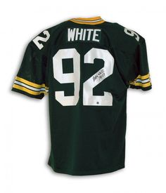 AAA Sports Memorabilia LLC - Reggie White Green Bay Packers Autographed Green Throwback Jersey Inscribed with a Bible Verse, $2,024.95 (http://www.aaasportsmemorabilia.com/nfl/green-bay-packers/reggie-white-green-bay-packers-autographed-green-throwback-jersey-inscribed-with-a-bible-verse/)