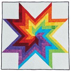 Rainbow Swirl Quilt Pattern Download