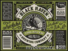 mybeerbuzz.com - Bringing Good Beers & Good People Together...: Black Raven Trickster IPA Coming 10/17