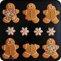 40 New Ideas For Funny Christmas Cookies Hilarious Gingerbread Man Christmas Sweets, Christmas Gingerbread, Noel Christmas, Christmas Goodies, Christmas Baking, Christmas Humor, Italian Christmas, Gingerbread Man Cookies, Xmas Cookies