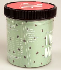 """She said: """"It's mainly print design for other fictitious companies, but maybe one day I'll be able to use humor to produce real products that will be on shelves or in this case freezers soon!""""   A College Student Designed Some Ice Cream Flavours For Women With PMS"""