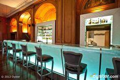 Bar du Plaza Athenee at the Hotel Plaza Athenee; Paris