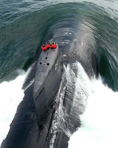 A Seawolf Class submarine in action. - Image - Naval Technology