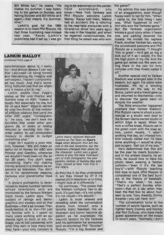LARKIN MALLOY- THE BEST!