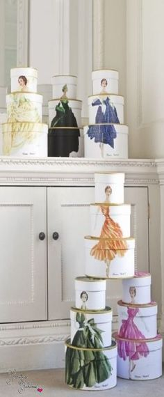 Christian Dior Hat Boxes