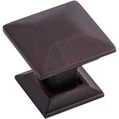 southern hills oil rubbed bronze kitchen cabinet knobs 1 inch beveled square knobs pack of mission cabinet pulls