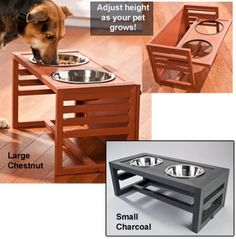 Attirant Doca Pet Dogleg Diner Raised Dog Feeder   Dog Supplies, Dog Feeder And Pets