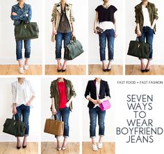 30 Outfits in a Bag: Boyfriend Jeans