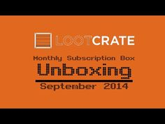 Loot Crate Unboxing & Review (Sept 2014) - FamiGami - Family Gaming