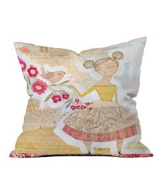 Loving this The Secret to Happiness Throw Pillow on #zulily! #zulilyfinds