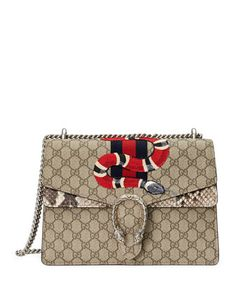 Dionysus+Snake-Embroidered+Crossbody+Bag,+Multi+by+Gucci+at+Neiman+Marcus. $120