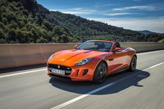 The 2014 Jaguar F-Type revives the E-Type's sportscar formula without bowing down to its design ethos--and lives up to the promise of sports car fun in a luxurious environment. Find out why the 2014 Jaguar F-Type is rated by The Car Connection experts. Aston Martin Vanquish, Bmw M6, Audi R8, Porsche 911, Ferrari 458 Italia, Corvette Stingray, Jaguar F Type, Jaguar Cars, Sport Cars
