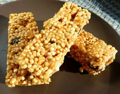 Receta: Cómo preparar barras energéticas de quinoa, libres de gluten y de lácteos. Recipe, how to make gluten free, dairy free quinoa energy bars