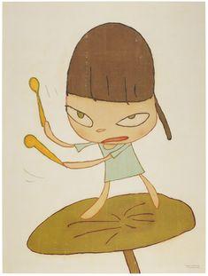 Walt Disney Cartoons, Yoshitomo Nara, Superflat, Poster Drawing, Takashi Murakami, Global Art, Japanese Artists, Art Market, Contemporary Art