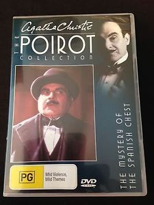 POIROT-The-Mystery-of-the-Spanish-Chest-R4-DVD-Agatha-Christie-FREE-POST