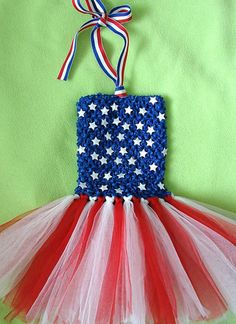Fourth July Dresses For Girls & Kids
