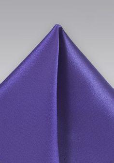 Einstecktuch Poly-Faser violett