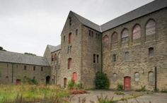 Ushaw Home Farm, Ushaw College, County Durham. Abandoned in 2002