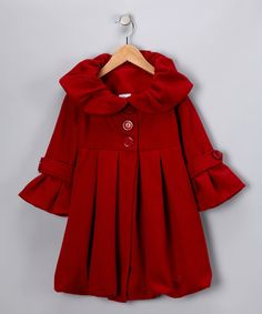 Red Bubble Coat - Girls http://www.zulily.com/invite/mjm237