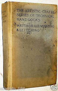 #Book, #writing & illuminating #lettering by edward johnston 1917 8th ed ,  View more on the LINK: 	http://www.zeppy.io/product/gb/2/401091460393/