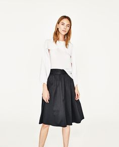 ZARA - WOMAN - CROSSOVER LAYER BLOUSE