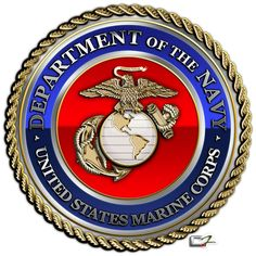 United States Marine Corps Emblem | Seal of The United States Marine Corps (USMC)