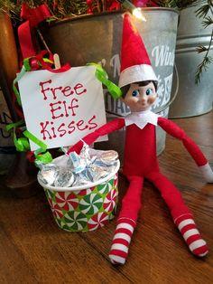 Elf Ideas Easy, Awesome Elf On The Shelf Ideas, Elf On Shelf Funny, Elf On The Shelf Ideas For Toddlers, Christmas Elf, All Things Christmas, Christmas Crafts, Christmas Kitchen, Cute Christmas Ideas