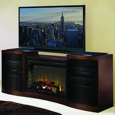 Real Home Inspiration: electric fireplace tv stand diy only on this page Electric Fireplaces Direct, Electric Fireplace Tv Stand, Electric Fireplace Entertainment Center, Entertainment Centers, Majestic Fireplace, Flat Screen Tv Stand, Home Entertainment Furniture, Traditional Fireplace, Flat Panel Tv