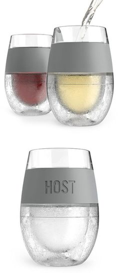 Instant Chill Stemless Wine Glass | Free It & Keep Your Drink Perfectly Chilled For Hours Without Watering Them Down #bpafree