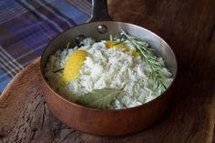 How to cook basmati rice by Greek chef Akis Petretzikis. A recipe to make the best, fluffiest basmati rice that is the perfect addition to so many saucy dishes! Basmati Rice Recipes, Cooking Basmati Rice, Greek Recipes, Vegan Recipes, Cooking Recipes, Sweets Recipes, Greek Cooking, Fun Cooking, Eggplant Dishes