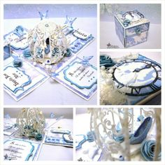 """""""So this is love, so this is what makes life divine."""" - Cinderella  Explosion box designed by Bellaelysium Crafts"""