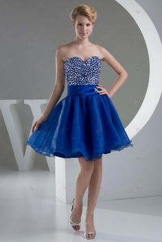 Buy mini length sweetheart royal blue pageant dress with beads from pageant dresses new arrivals collection, sweetheart neckline a line in blue royal blue color,cheap knee length dress with zipper back and for prom party cocktail party homecoming . Prom Dress 2014, Tulle Prom Dress, Prom Dresses Blue, Formal Evening Dresses, Homecoming Dresses, Short Dresses, Party Dresses, Dance Dresses, Dresses 2016