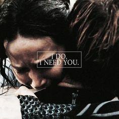 Hunger Games Quote / Catching Fire / Katniss / Peeta