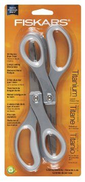 #Amazon: $8.61 or 66% Off: Fiskars 8 Inch Everyday Titanium Scissors 2 pack -- $8.61  FS w/Prime at Amazon #LavaHot http://www.lavahotdeals.com/us/cheap/fiskars-8-inch-everyday-titanium-scissors-2-pack/68454
