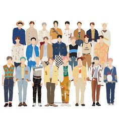 Kpop Stickers, Printable Stickers, Cute Stickers, Nct 127, Nct Dream Members, Nct Group, Kpop Fanart, Aesthetic Stickers, Cute Cartoon Wallpapers