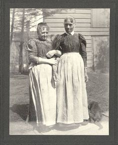Unidentified women :: Historic Huguenot Street