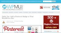 Add a Pinterest Badge to Your WordPress Site