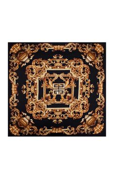 GIVENCHY  Arabesque Scarf in Black  $375