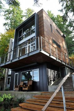 Gallery of Dorsey Residence / Coates Design: Architecture + Interiors Architecture Résidentielle, Amazing Architecture, Casas Containers, Architect Design, Modern House Design, Modern Houses, My Dream Home, Exterior Design, Beautiful Homes