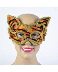 Tiger Decorative Glasses Style mask