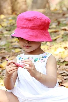 Cherry Linen Baby Sun Hat  Soulslings  Babywearing  Accessories  Sun  Hats   6a0900888e3e