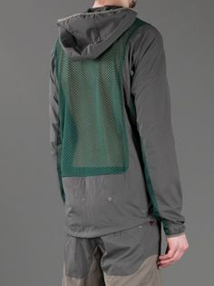 NIKE X UNDERCOVER - hooded mesh panel jacket 9