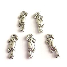 Parrot Charms